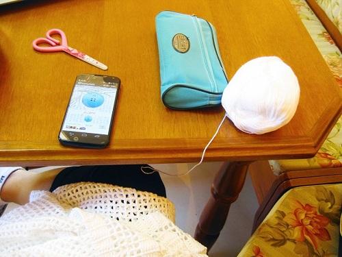 Contador de carreiras para tricô e crochê (app)