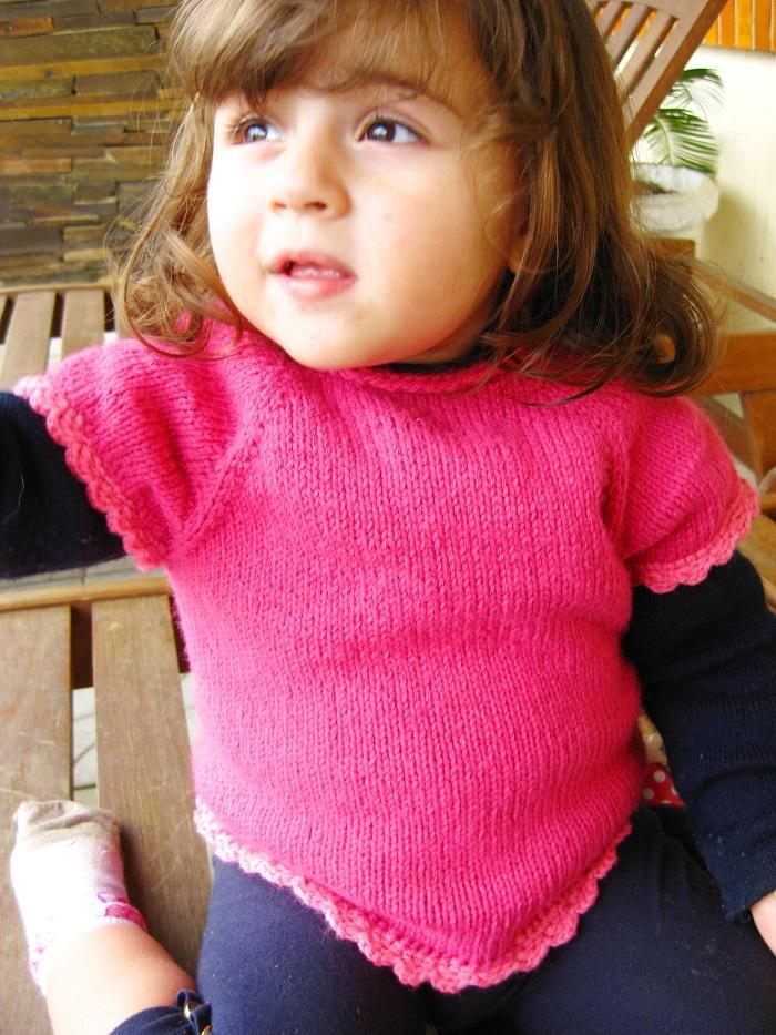 blusa de trico para crianca de 2 anos