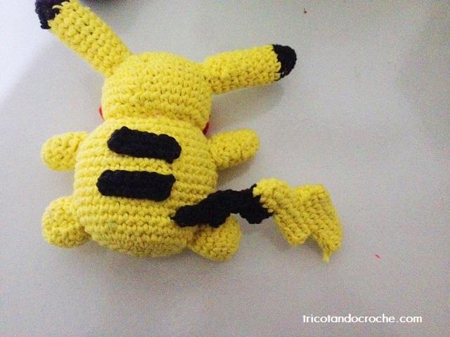 pikachu de croche 3