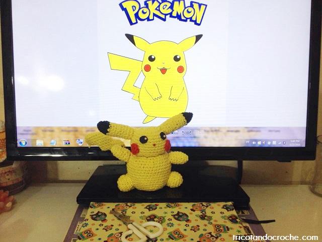 pikachu de crochet