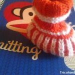 Uma botinha em tricô