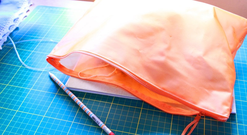 Bolsas para guardar nosso tricô, crochê, agulhas, tesoura …