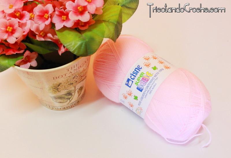 Fio Super Bebê |Rosa claro