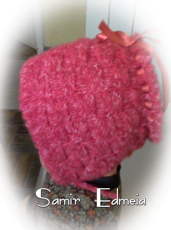 Touca camponesa de tricô | Feito por Samir Edméia