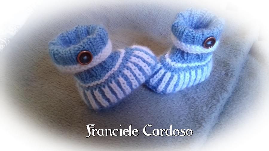 BOTINHA BRIOCHE | FRANCIELE CARDOSO