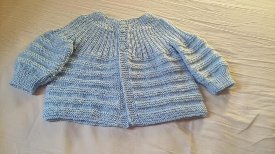 Casaquinho de tricô | Eliana Dias Ranieri