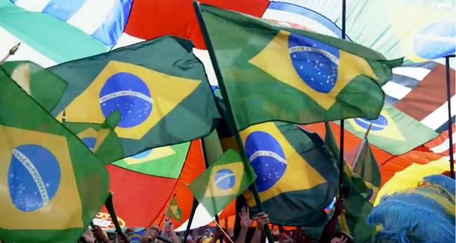 Clipe oficial da copa do mundo 2014