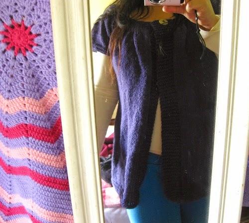Meu casaco de tricô Lady Kina