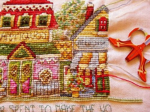 Needlework shop concluido