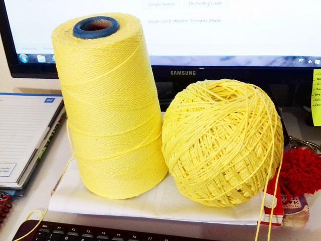 Tricotando tijolinhos