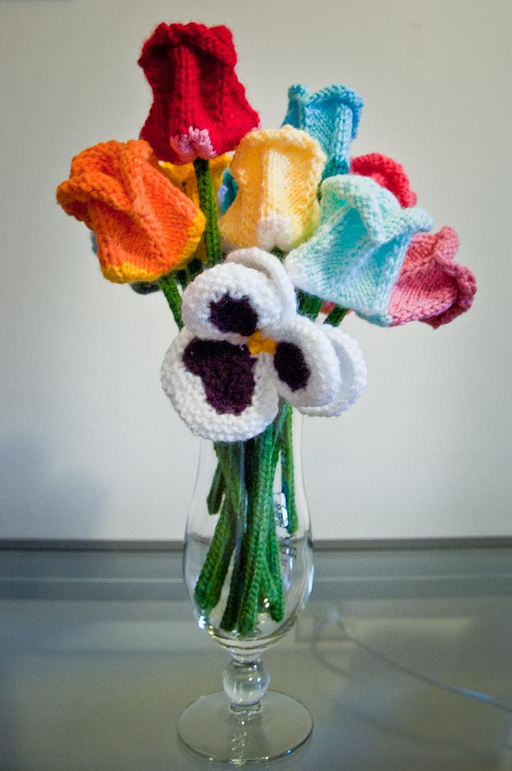Flores de Tricô?