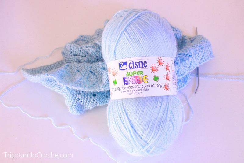 Fio Super Bebê- azul clarinho
