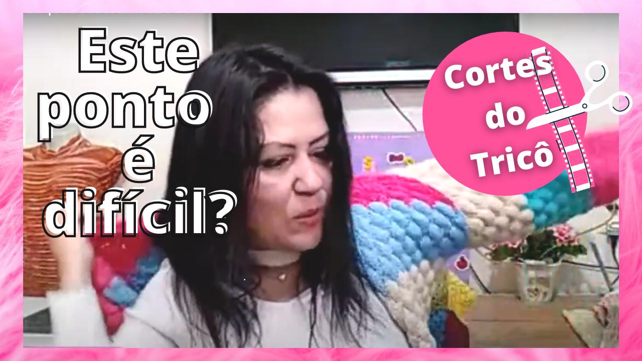 Cortes do Tricô: Qual tamanho tricotei? O ponto é difícil ?